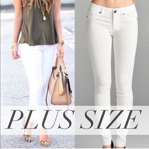 Denim - Skinny Jeans Plus Size